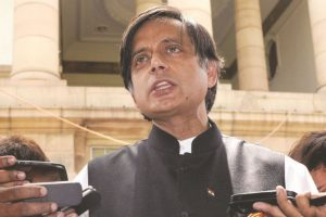 Shashi Tharoor hits back at BJP over 'scorpion on Shivling' metaphor for PM Modi