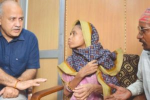 Starvation deaths failure of system: Sisodia