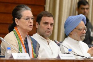 CWC: Rahul accuses BJP of ignoring poor, Sonia says govt's end has begun
