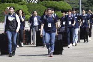 South Korean basketball teams travel to Pyongyang for friendlies