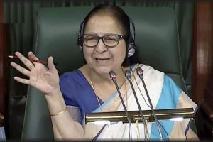 LS Speaker stresses on elimination of poverty, promotion of gender equality