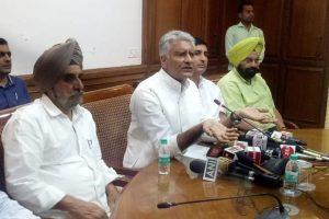 MSP hike a cruel joke: Punjab Congress chief Sunil Jakhar