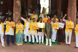 Naidu tells TDP MPs to move privilege motion against PM Modi, Piyush Goyal
