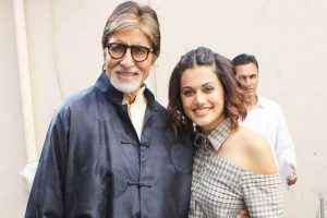 Amitabh Bachchan lauds Taapsee Pannu for energy she has