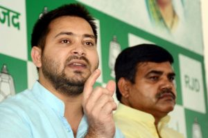 Bihar: RJD depicts Tejashwi as 'Ram', CM Nitish Kumar as 'Ravan'