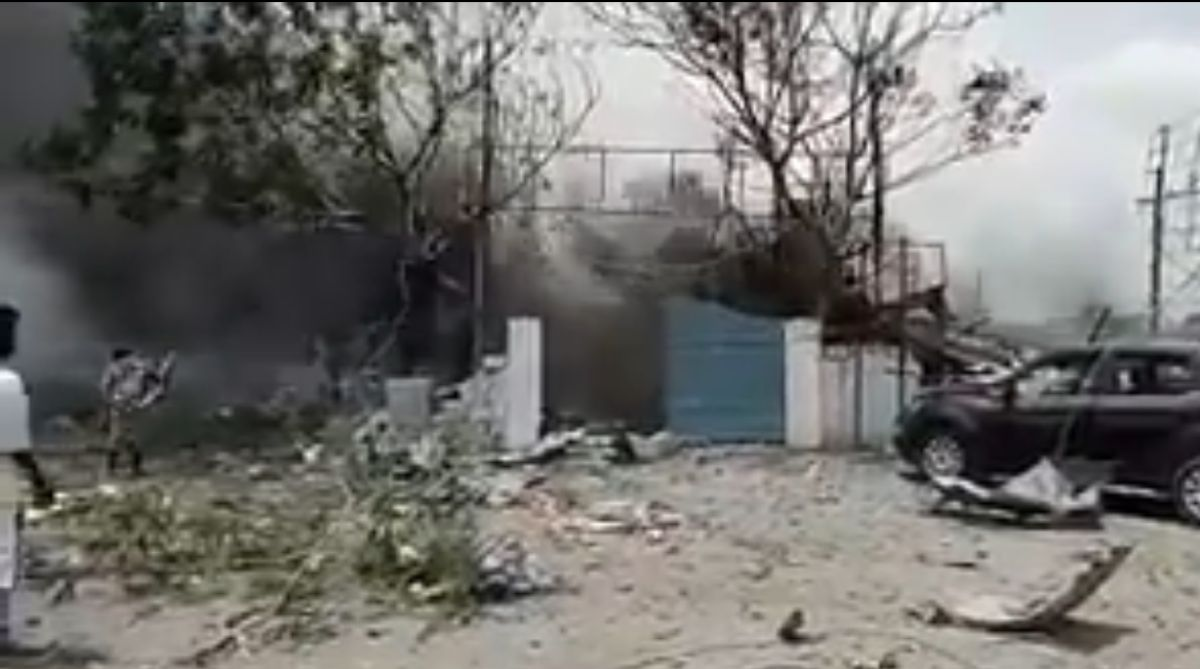 Telangana fire, Telangana firecracker unit, Warangal firecracker unit, Warangal massive fire
