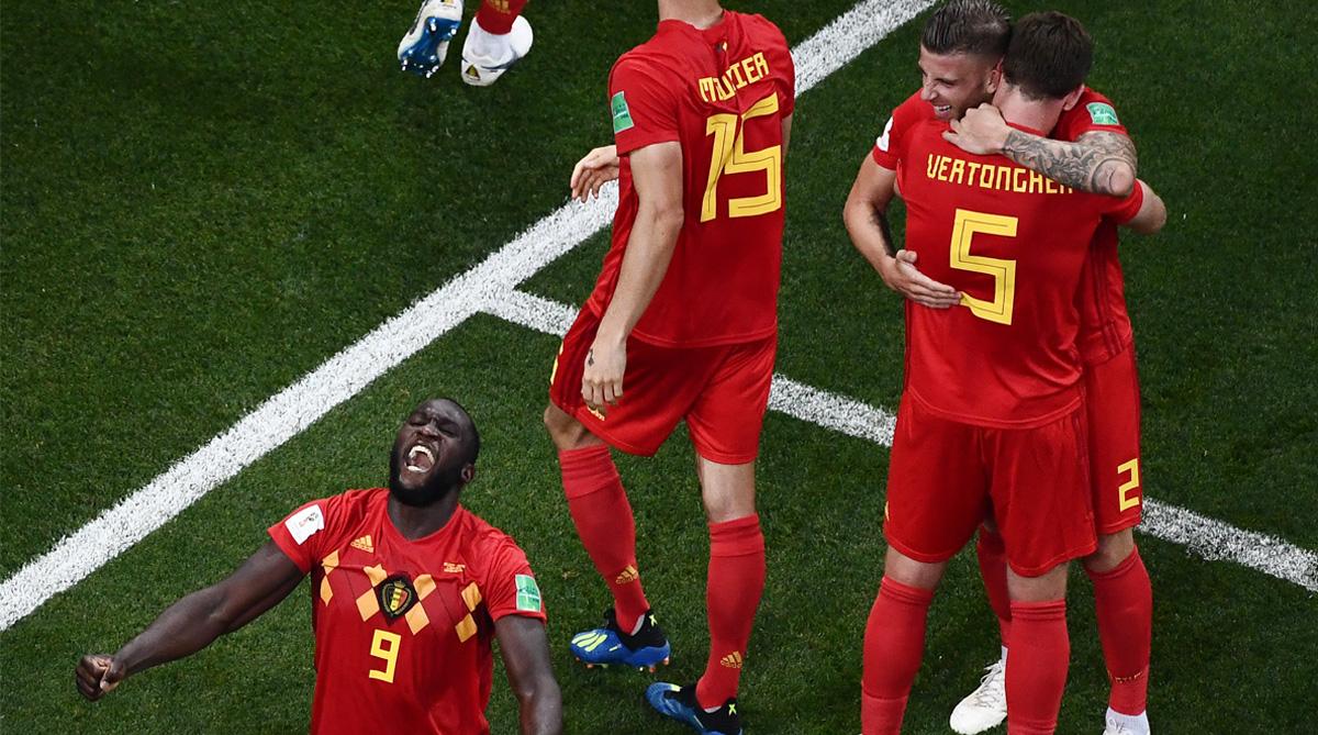 Toby Alderweireld, Jan Vertonghen vs Japan, Belgium Football, 2018 FIFA World Cup, FIFA World Cup 2018, Belgium vs Japan