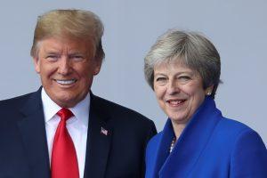 Trump told me to sue EU: May