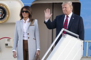 Donald Trump leaves for Paris to attend war commemoration ceremony