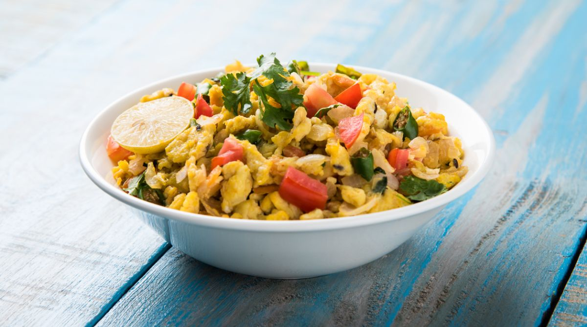 Vegetable egg bhurji