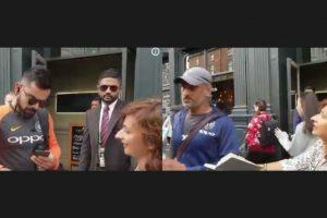 Watch: Dhoni declines, Virat Kohli obliges fan with autograph