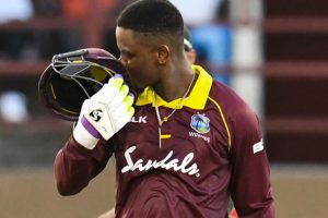 Hetmyer hundred as Windies level Bangladesh series