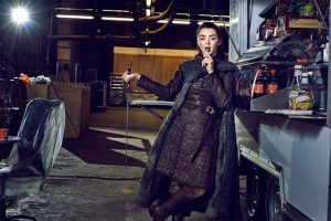Maisie Williams aka Arya Stark bids goodbye to Game of Thrones with 'blood-soaked' picture