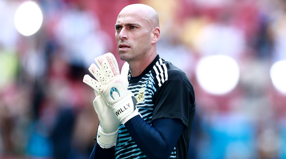 Willy Caballero, Argentina Football, 2018 FIFA World Cup,