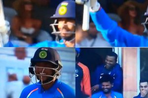 Watch: When Yuzvendra Chahal hit a boundary and brought smiles
