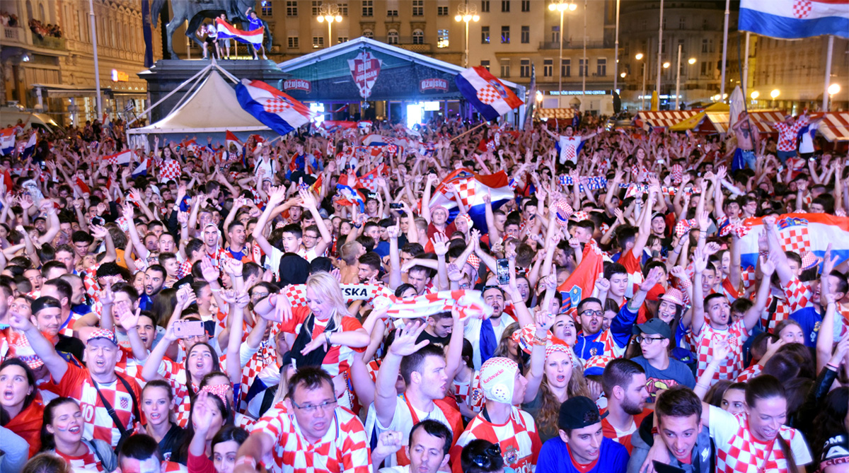 Croatia Football, 2018 FIFA World Cup, FIFA World Cup 2018, England vs Croatia, Zagreb