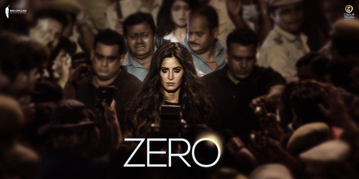 Zero poster featuring Katrina Kaif