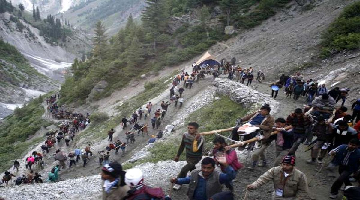 Amarnath Yatra, Amarnath pilgrims, Amarnath Yatra 10th batch, Amarnath