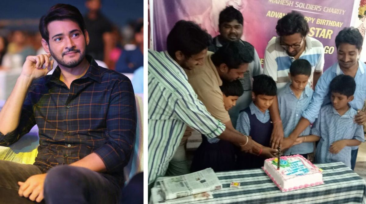 Mahesh Babu's fans give a shout-out ahead of the superstar's 43rd birthday