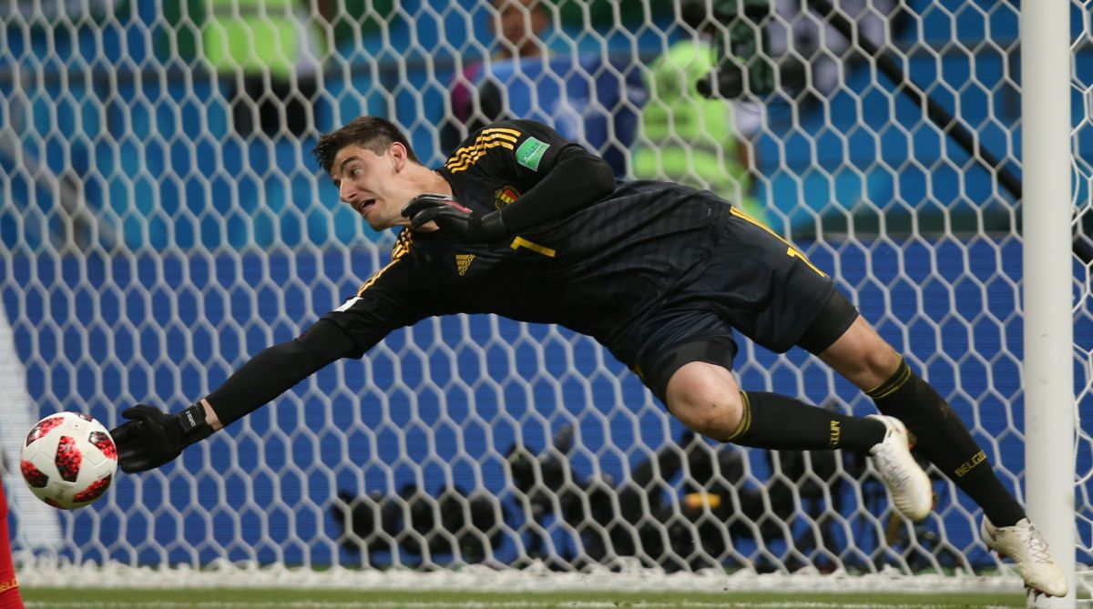2018 FIFA World Cup, Belgium, Courtois