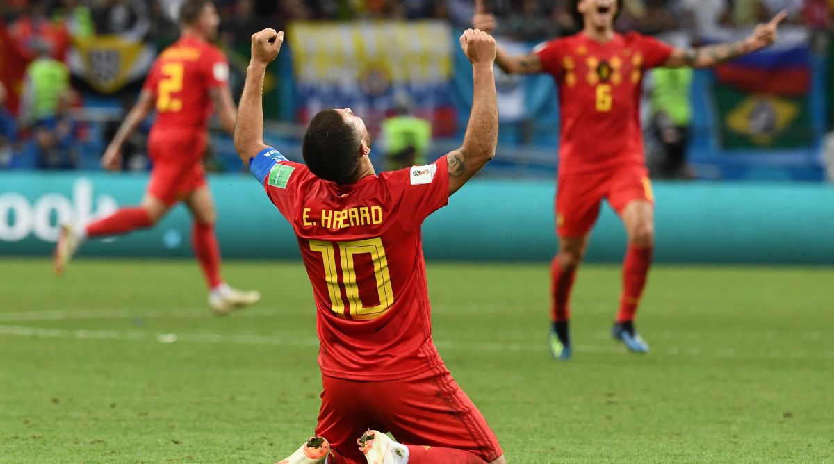 2018 FIFA World Cup, Belgium, Hazard