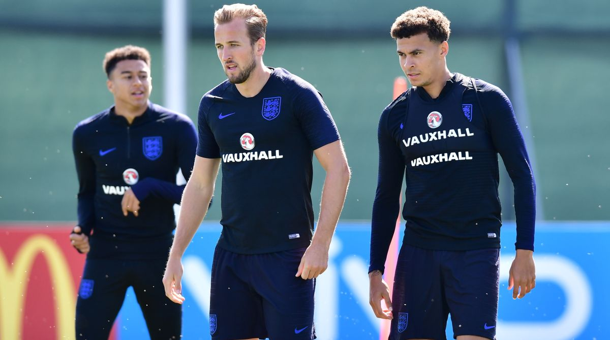 2018 FIFA World Cup, England, Harry Kane, Dele Alli
