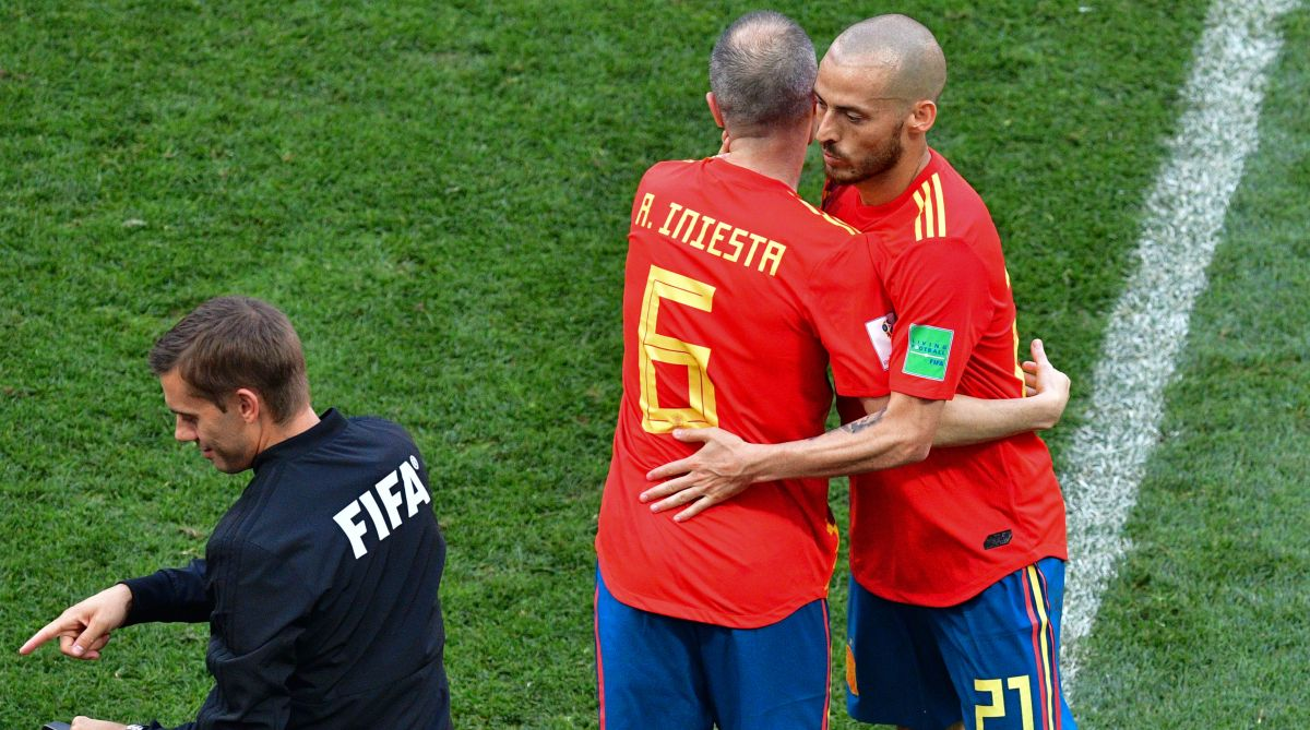 2018 FIFA World Cup, Spain, Silva