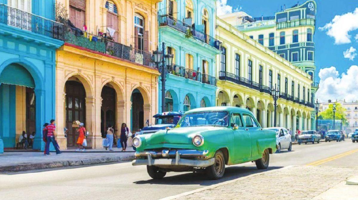 Vintage cars are a staple of historic Havana