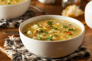 Soup before meal may promote healthy eating, weight loss