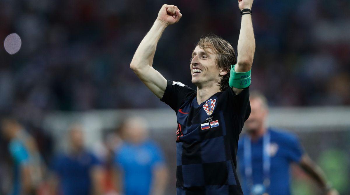 2018 FIFA World Cup, Croatia, Modric