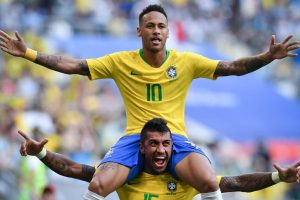 Rock-solid Brazil living up to billing as World Cup favourites