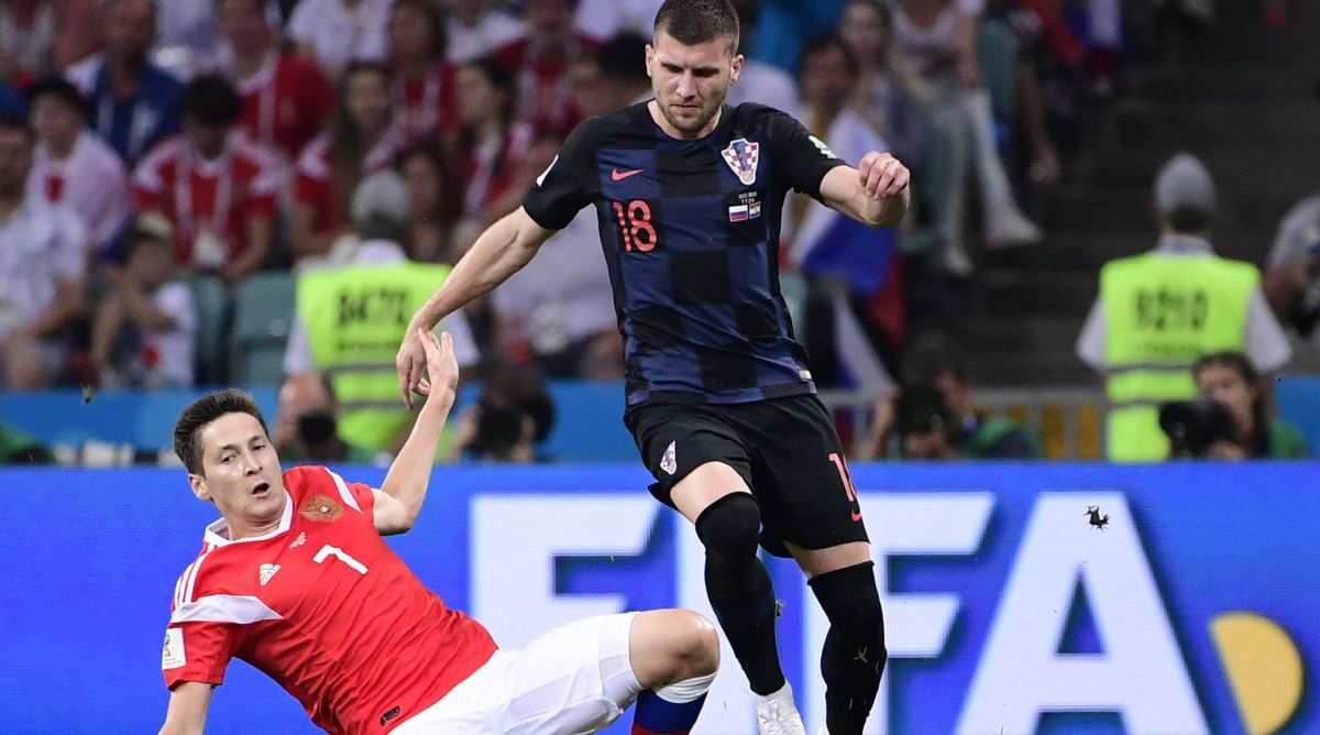 2018 FIFA World Cup, Rebic, Croatia