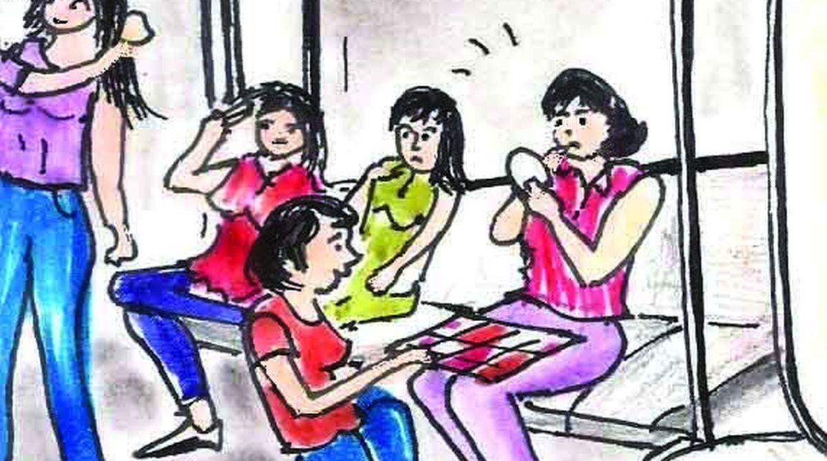 Metro parlour, Delhi Metro, ladies, Fashion