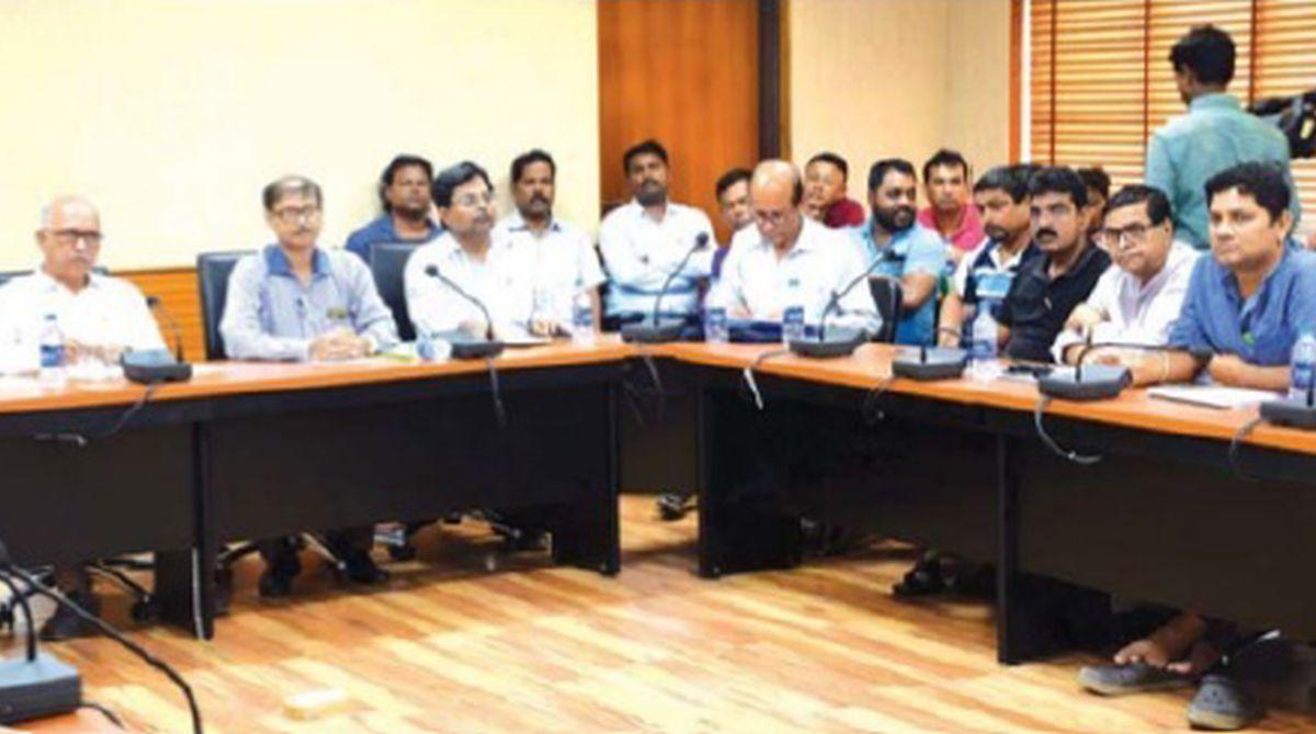 Tea talks, tea plantations, trade unions, Darjeeling Tea Association