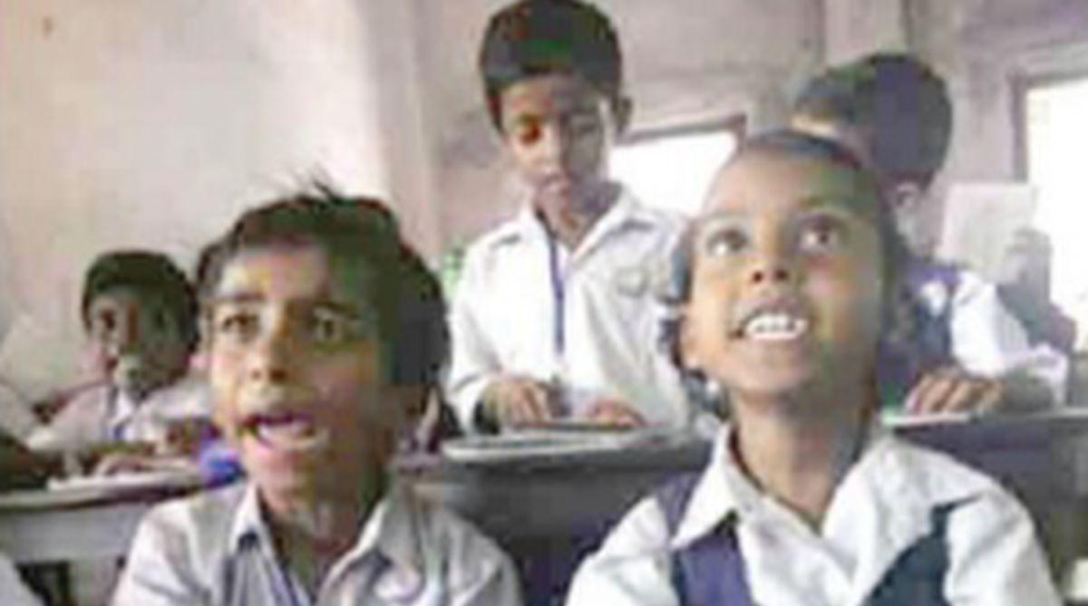tribal students, Lahaul-Spiti, Ram Lal Markanda