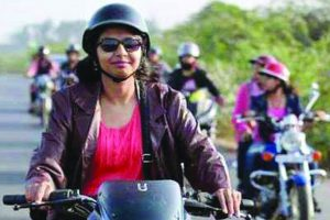 Haryana makes helmets must for women riders