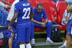 Sarri found out he was sacked as Napoli coach on TV