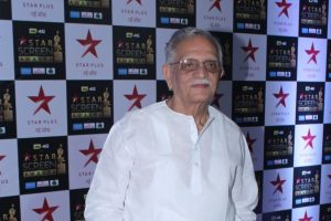 Gulzar as the father in new book