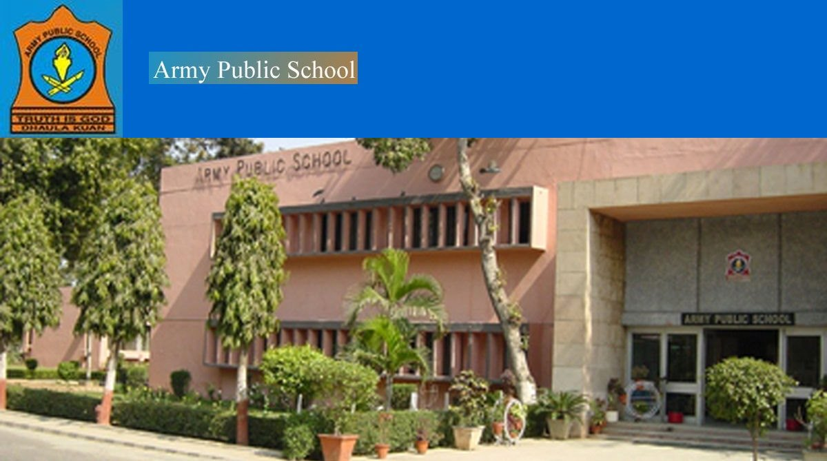 Army Public School recruitment 2018