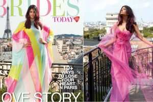 Aishwarya Rai Bachchan leaves a splash of colour on Brides Today cover