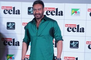 Ajay Devgn apologises for missing lyricist's name from Helicopter Eela trailer