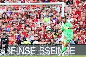 Jurgen Klopp reacts to Alisson's dream Liverpool debut