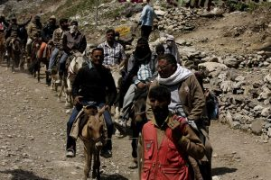 148 pilgrims leave for Amarnath Yatra from Jammu