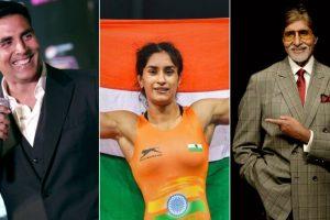 B-Town congratulates 'golden girl' Vinesh Phogat