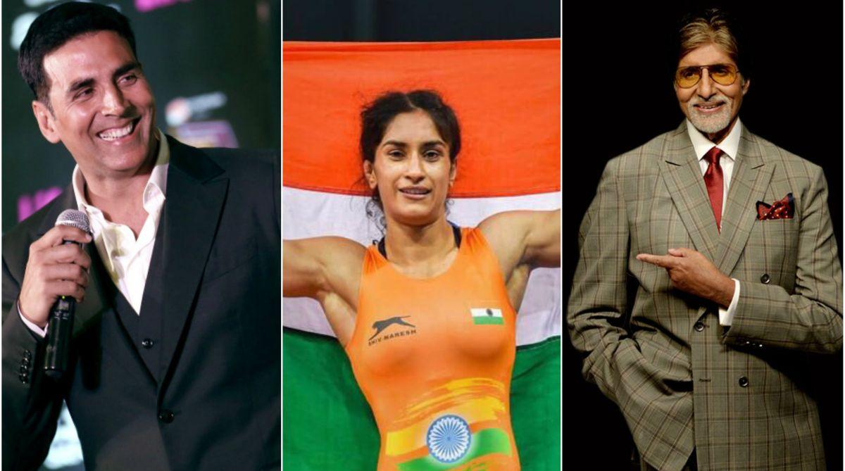 Akshay Kumar, Vinesh Phogat, Amitabh Bachchan