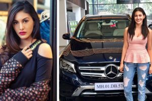 Amyra Dastur buys her dream car