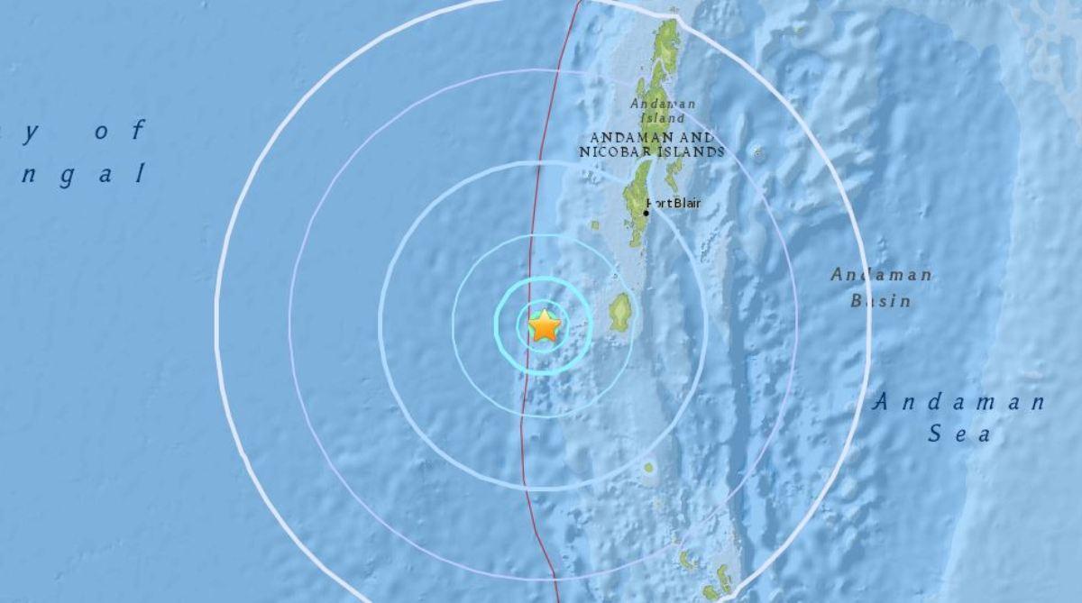 Andaman Island earthquake