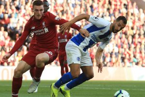 Liverpool vs Brighton & Hove Albion: Andy Robertson waxes lyrical about Alisson