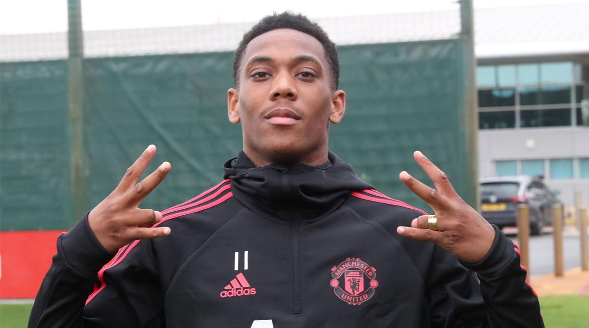Anthony Martial, Manchester United F.C., Premier League, Manchester United Transfer News, Jose Mourinho