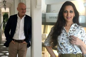 Anupam Kher pens down emotional post for 'his hero' Sonali Bendre | Check post